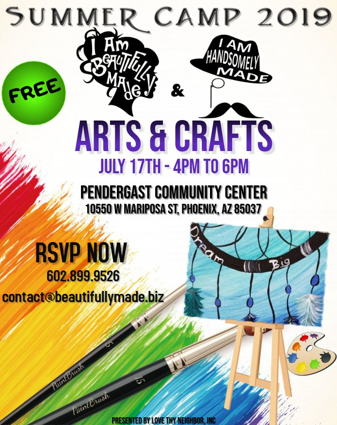 Summer Camp 2019 Arts-N-Crafts v2 071719