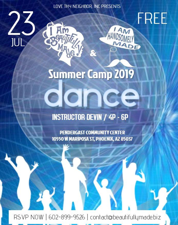 Summer Camp 2019 Dance 072319