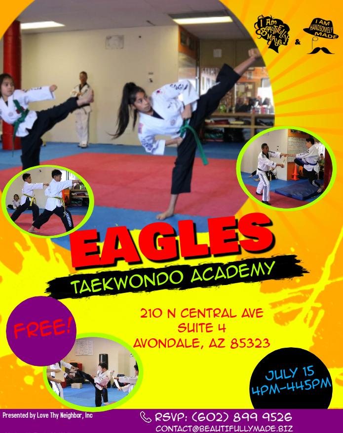 Summer Camp 2019 Eagles Taekwondo 071519