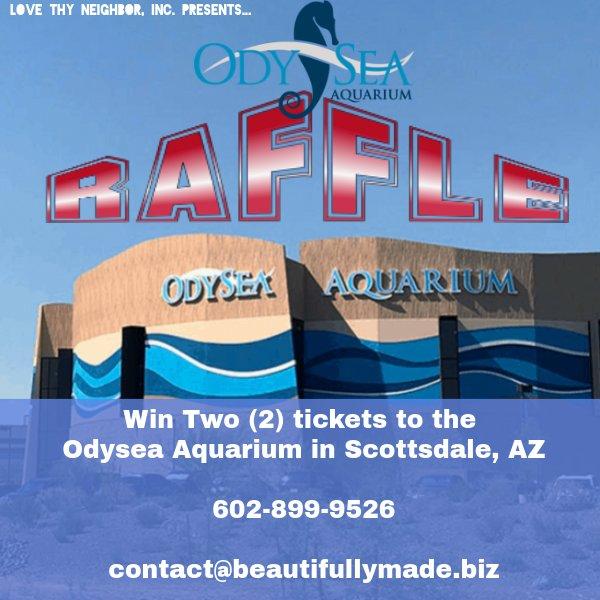 Odysea Aquarium Raffle Logo