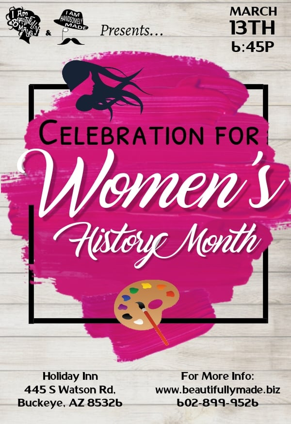 Celebration for Womens History Month 2