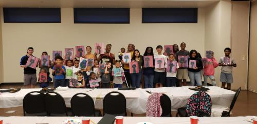Paint Night Ostrich - February 2019