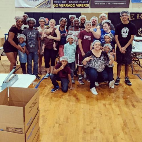 Feed My Starving Children - April 2019